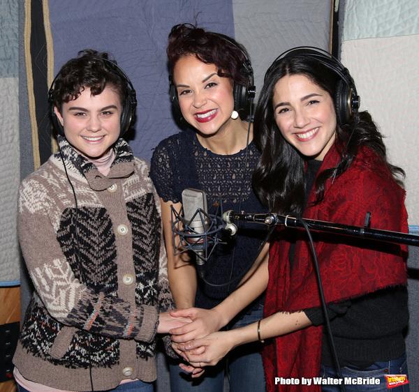 Melanie Moore, Alexandra Silber and Samantha Massell