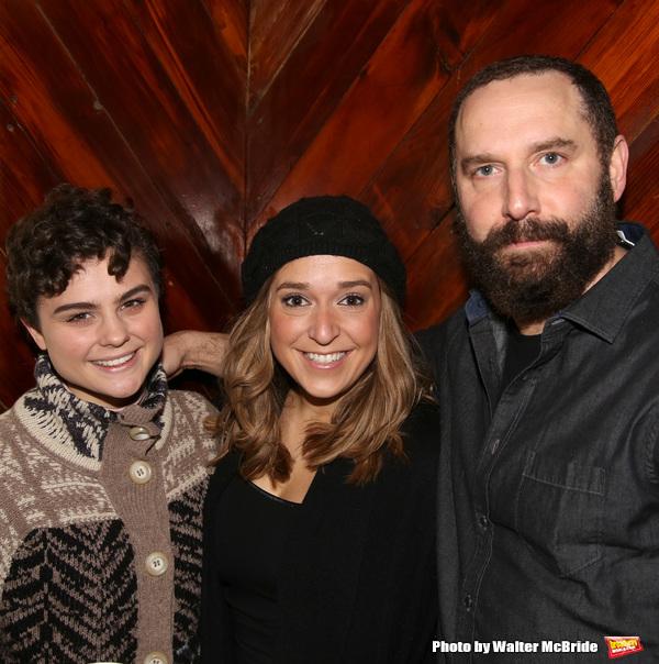 Melanie Moore, Jessica Vost and Adam Dannheisser