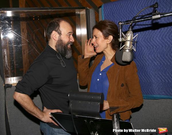 Danny Burstein and Jessica Hecht
