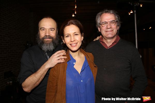 Danny Burstein, Jessica Hecht and Bartlett Sher