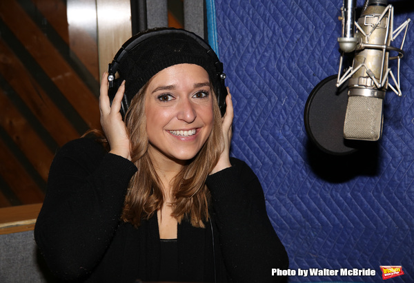 Photo Coverage: In the Recording Studio with the Cast of FIDDLER ON THE ROOF!