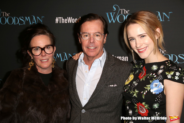 Kate Spade, Andy Spade and Rachel Brosnahan
