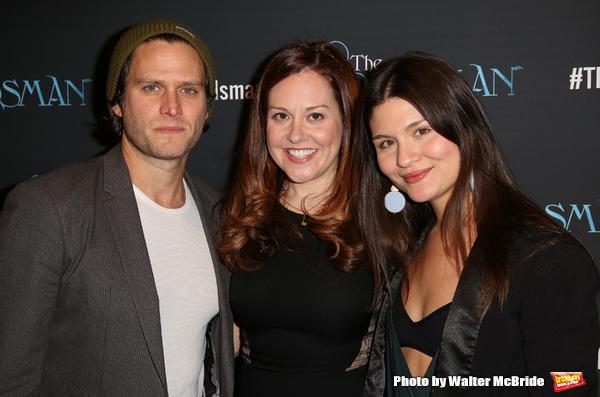 Steven Pasquale, Claire Karpen and Philippa Soo