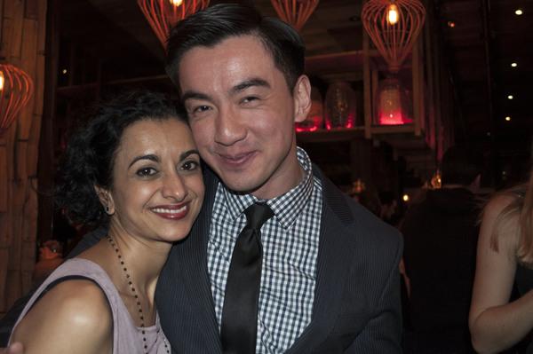Nandita Shenoy and Johnny Wu