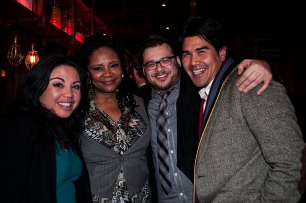 Maria-Christina Oliveras, Tonya Pinkins, Christopher Oscar Peña and Pun Bandhu