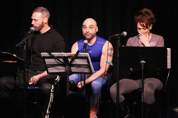 Jim Newman, Eddie Capuano & Lesli Margherita.