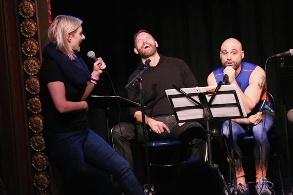 Laura Heywood, with Jim Newman & Eddie Capuano.