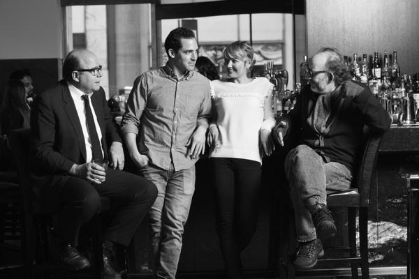 Michael Pemberton, Anthony Comis, Susannah Hoffman, and Max Baker