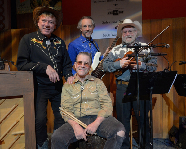 The Bodacious Bobcat Band: Ken Lundie, Geoff Marrow, Guy Fischetti and Ken Ross (front)