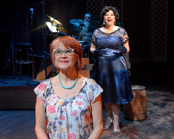 Susann Fletcher as Louise Seger and Erin McCracken as Patsy Cline