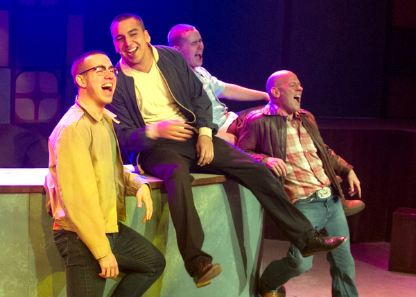 Jonathan Rosario, Andrew Puente, Joseph Ott and James McHale