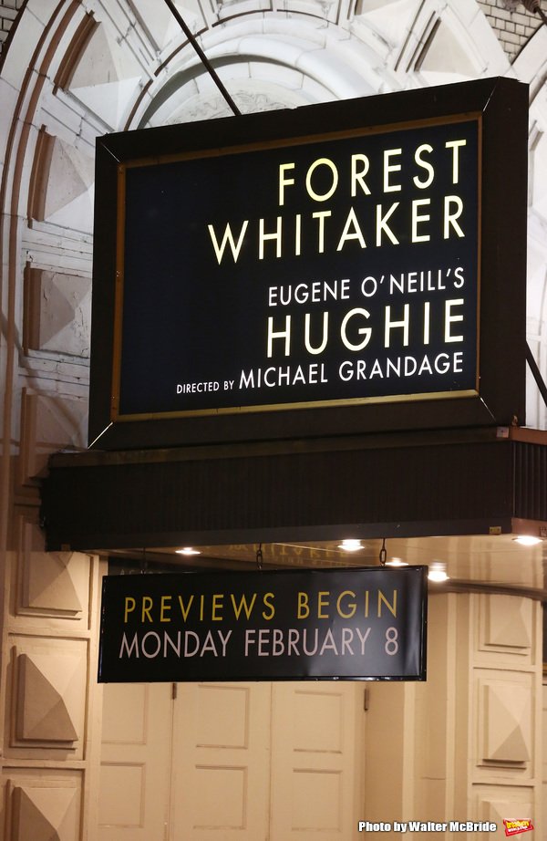 Photo Coverage: Forest Whitaker Takes First Broadway Bows in HUGHIE