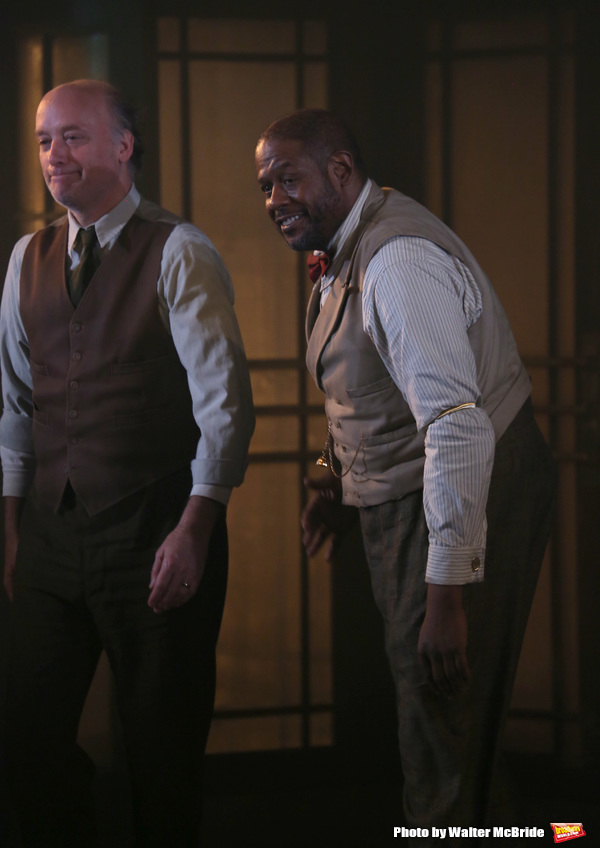 Frank Wood with Forest Whitaker