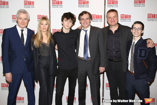 John Patrick Shanley, Annika Boras, Timothee Chalamet, Robert Sean Leonard, Chris McGarry and David Potters