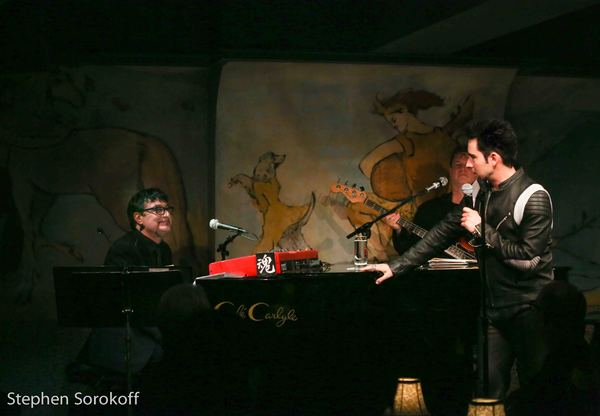 Tommy Faragher, music  & John Lloyd Young Photo
