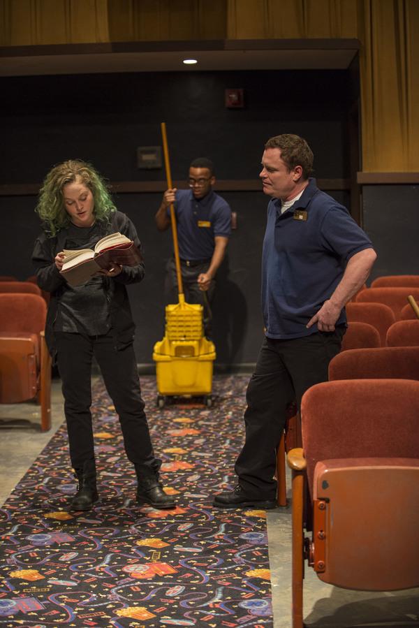 Caroline Neff (Rose), Travis Turner (Avery) and Danny McCarthy (Sam)