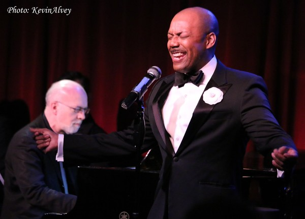 Photo Flash: T. Oliver Reid and Carly Hughes Bring Harlem to Birdland