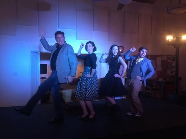 Roy Sexton, Lauren London, Natalie Rose Sevick and Brendan Kelly perform ''Brussels'' Photo