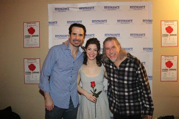 Luke Darnell, Bridget Saracino and Gabriel Barre