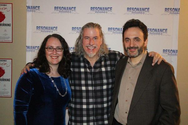 Rachel Reiner, Gabriel Barre and Eric Parness Photo