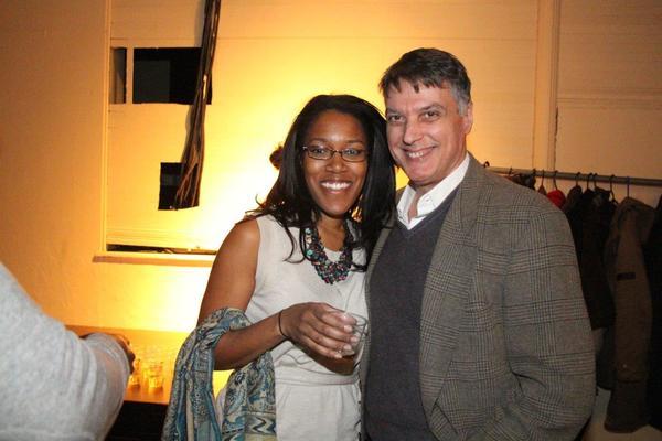 Shaun Bennet Fauntleroy and Robert Cuccioli Photo