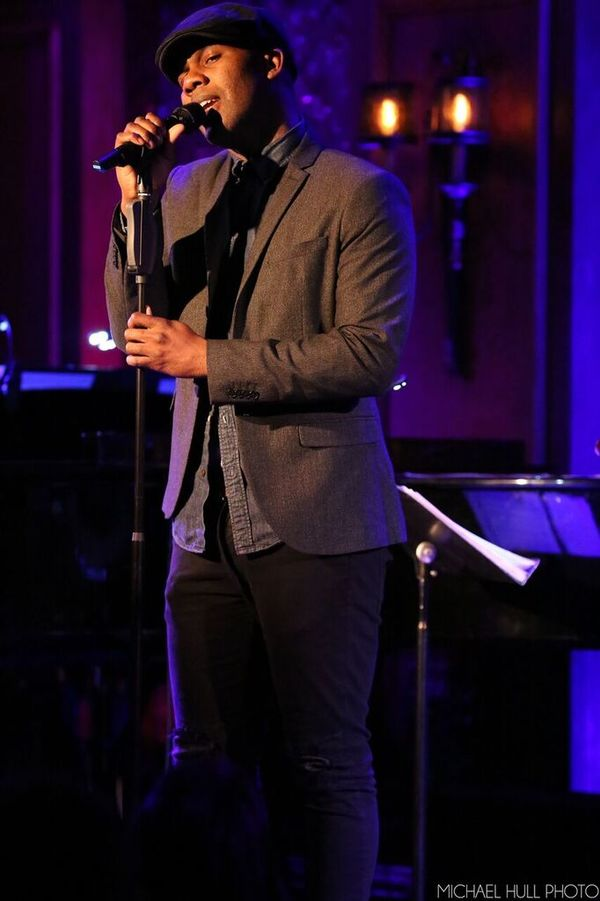 J. Daughtry singing ''Because of You'' Photo