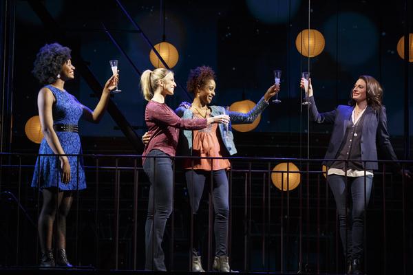 Kyra Faith, Janine DiVita, Tamyra Gray and Jackie Burns