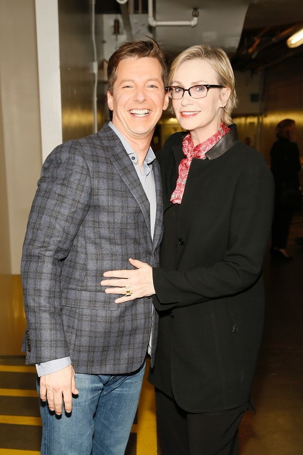 Sean Hayes, Jane Lynch