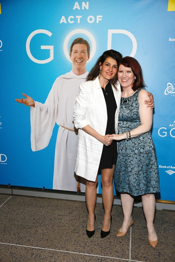 Photo Flash: AN ACT OF GOD with Sean Hayes Opens in L.A. - Go Inside Opening Night with Jane Lynch, Jesse Tyler Ferguson & More!