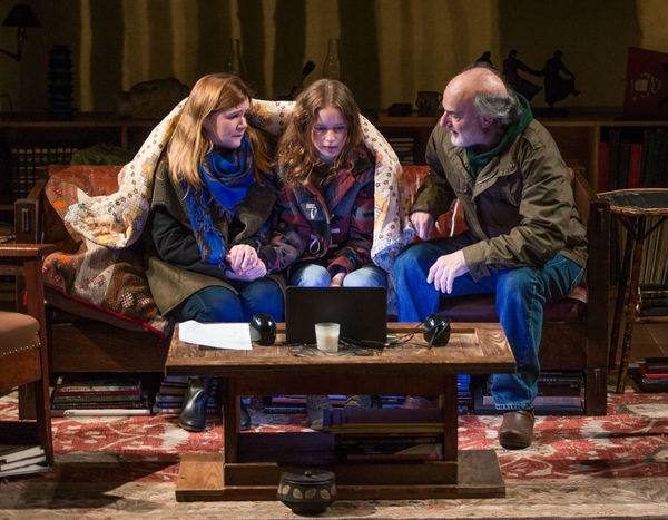 Mare Winningham, Naian Gonzalez Norvind and Peter Friedman