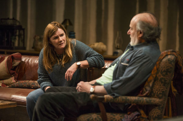 Mare Winningham and Peter Friedman