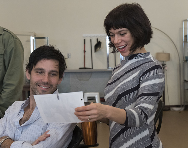 Photo Flash: In Rehearsal for WOMEN LAUGHING ALONE WITH SALAD at the Douglas