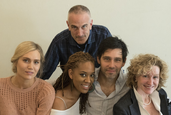 Photos: In Rehearsal for WOMEN LAUGHING ALONE WITH SALAD at the Douglas