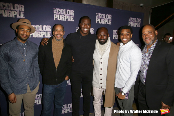 Photo Coverage: The COLOR PURPLE Celebrates Release of Cast Album!