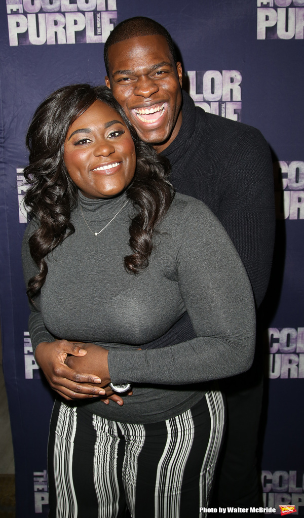 Danielle Brooks and Kyle Scatliffe  Photo