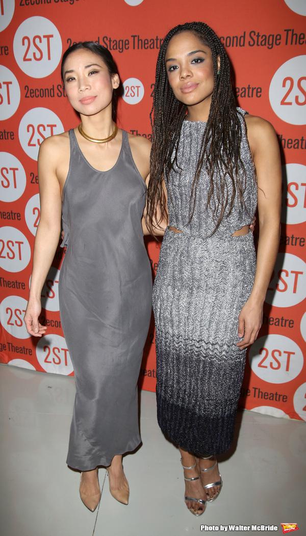 Anne Son and Tessa Thompson