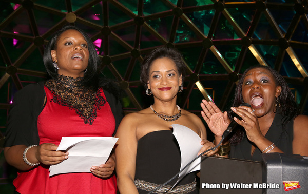 Carrie Compere, Rema Webb and Bre Jackson