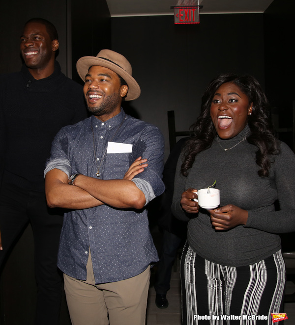 Kyle Scatliffe, Grasan Kingsberry and Danielle Brooks