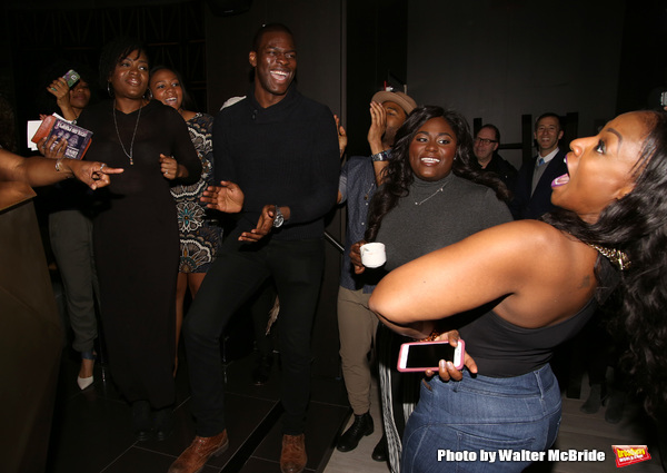 Danielle Brooks with cast