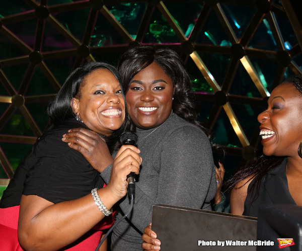 Carrie Comper, Danielle Brooks and Bre Jackson