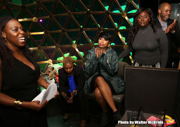 Carrie Compere, Cynthia Erivo,  Jennifer Hudson, Danielle Brooks and Lawrence Clayton