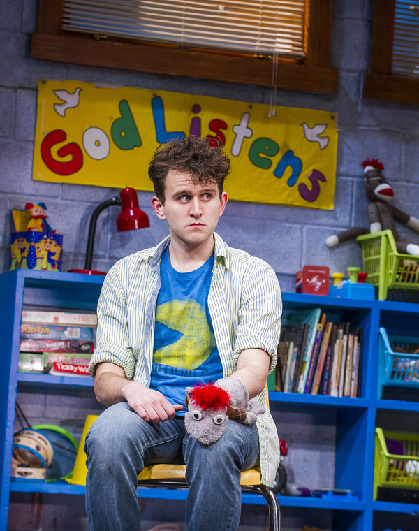Photo Flash: First Look at Harry Melling, Janie Dee and More in West End's HAND TO GOD