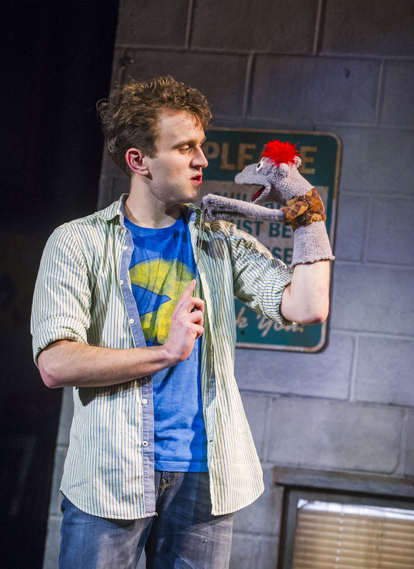 Harry Melling (Jason) and Tyrone