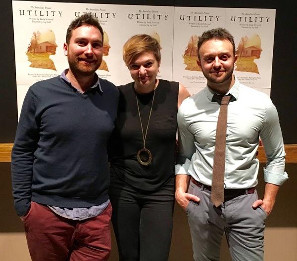Jay Stull, Emily Schwend, James Kautz