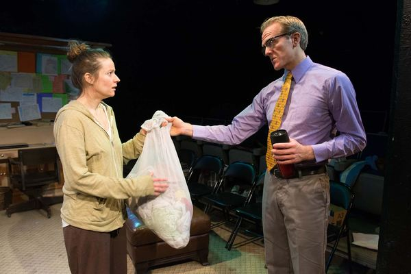 Photo Flash: First Look at Rolling Premiere of IN A WORD at Strawdog Theatre Company