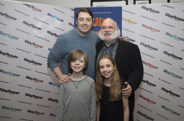 Jason Manford, Andy Hockley, Henry Kent, Lucy Sherman Photo