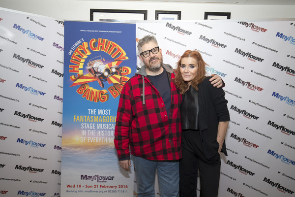 Phill Jupitus, Michelle Collins