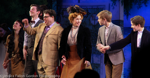 Photo Coverage: Pan is Back! Sandy Duncan Takes Her First Bows in FINDING NEVERLAND