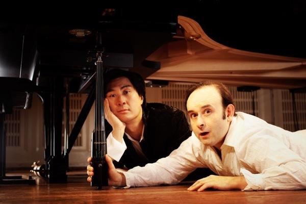 Hyung-ki Joo and Aleksey Igudesman Photo