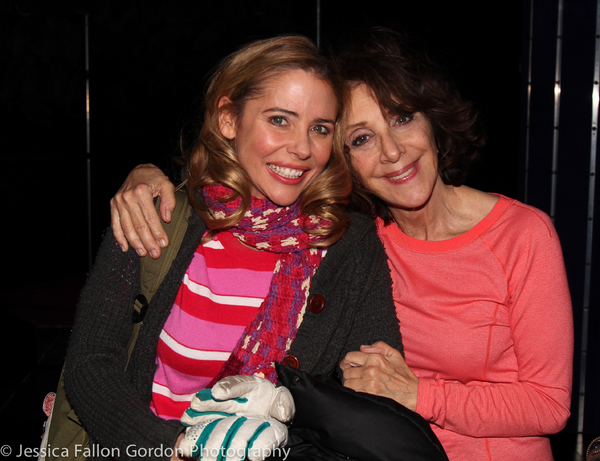 Kerry Butler and Andrea Martin